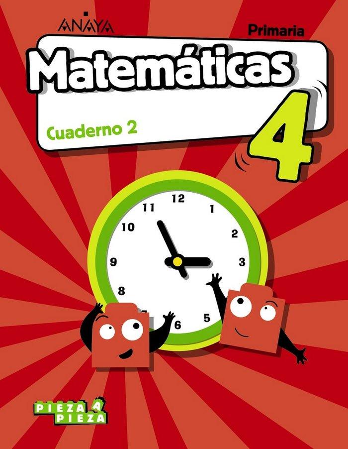 Cuaderno matematicas 2 4ºep andalucia 19 pieza