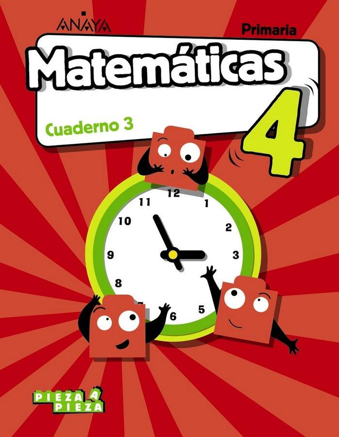 Cuaderno matematicas 3 4ºep andalucia 19 pieza