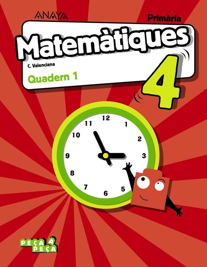 Matematiques 4. quadern 1.