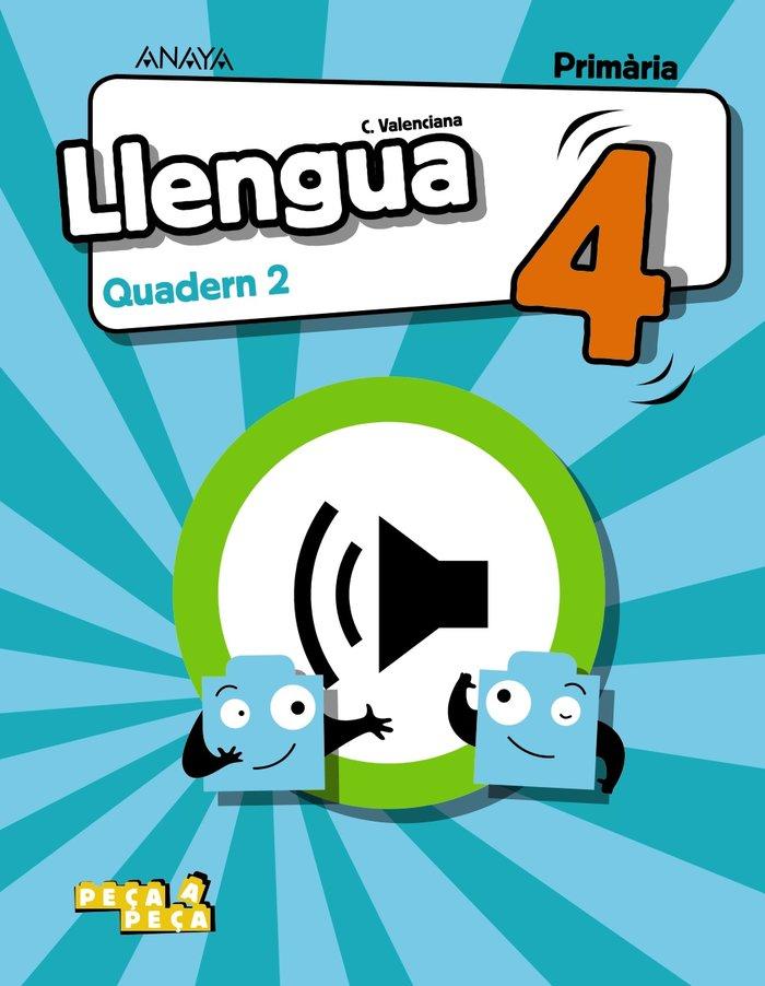 Quadern llengua 2 4ºep valencia 20 peÇa a peÇa