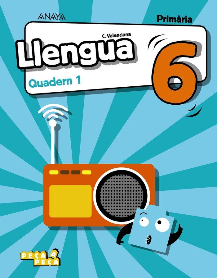 Quadern llengua 1 6ºep valencia 20 peÇa a peÇa