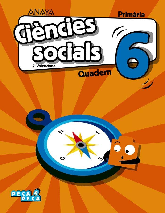 Quadern c.social.6ºep valencia 20 peÇa a peÇa