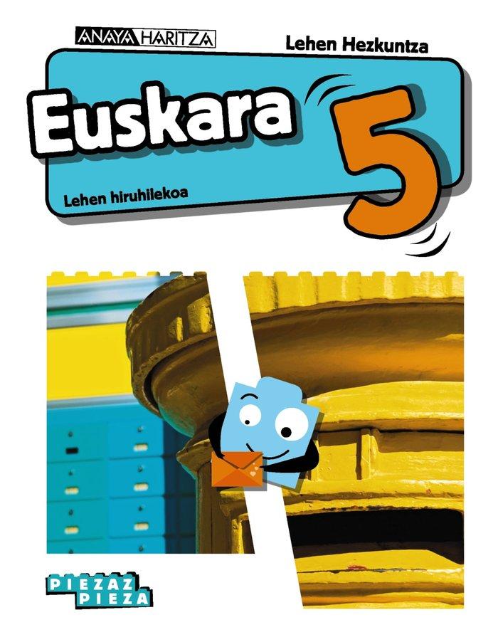 Euskara 5ºep navarra/p.vasco 20 piezaz pieza