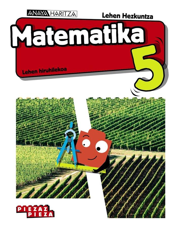 Matematika 5ºep navarra/p.vasco 20 piezaz pieza