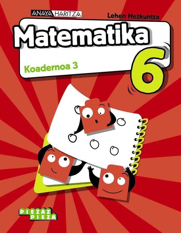 Koadernoa 3 matematika 6ºep 20 nav/p.vasco piezaz