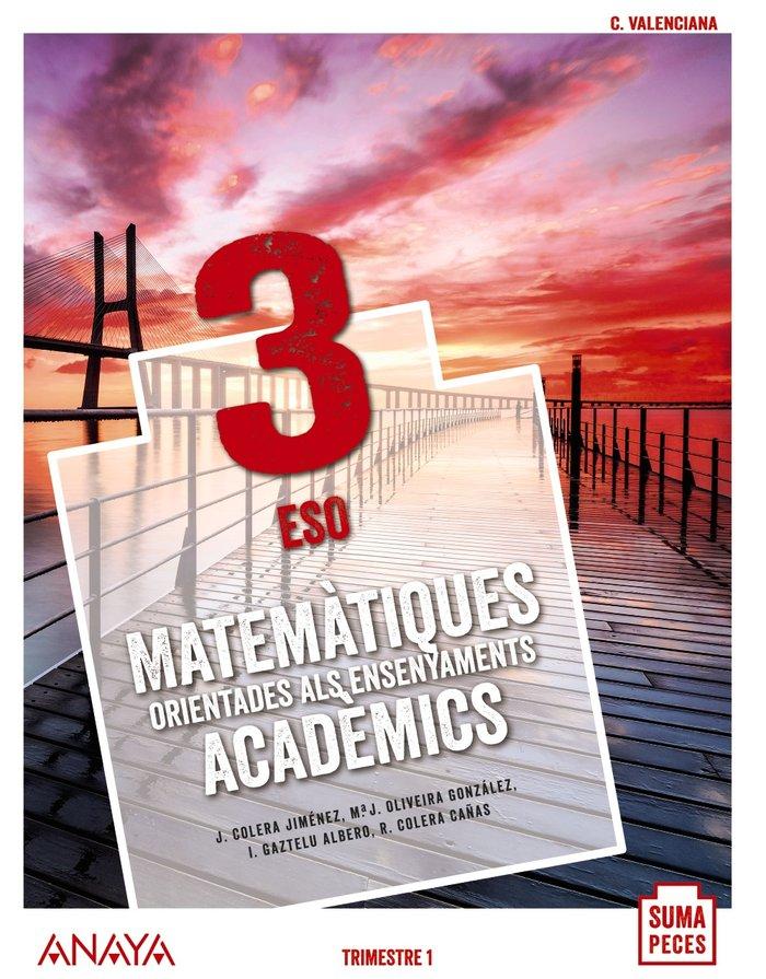 Matematiques adademics 3ºeso valencia 20 suma pece