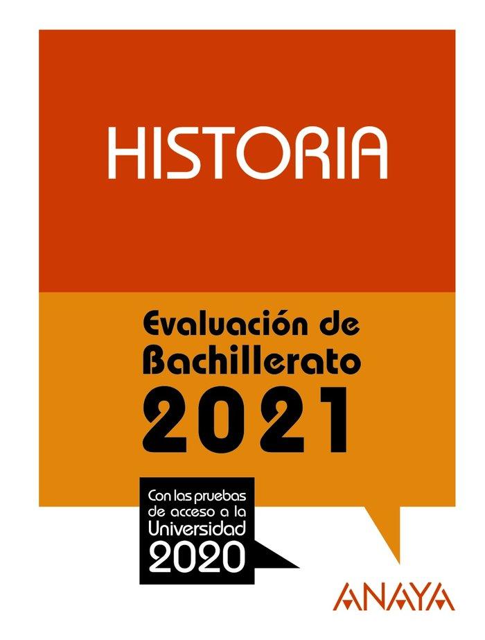 Selectividad historia 2021