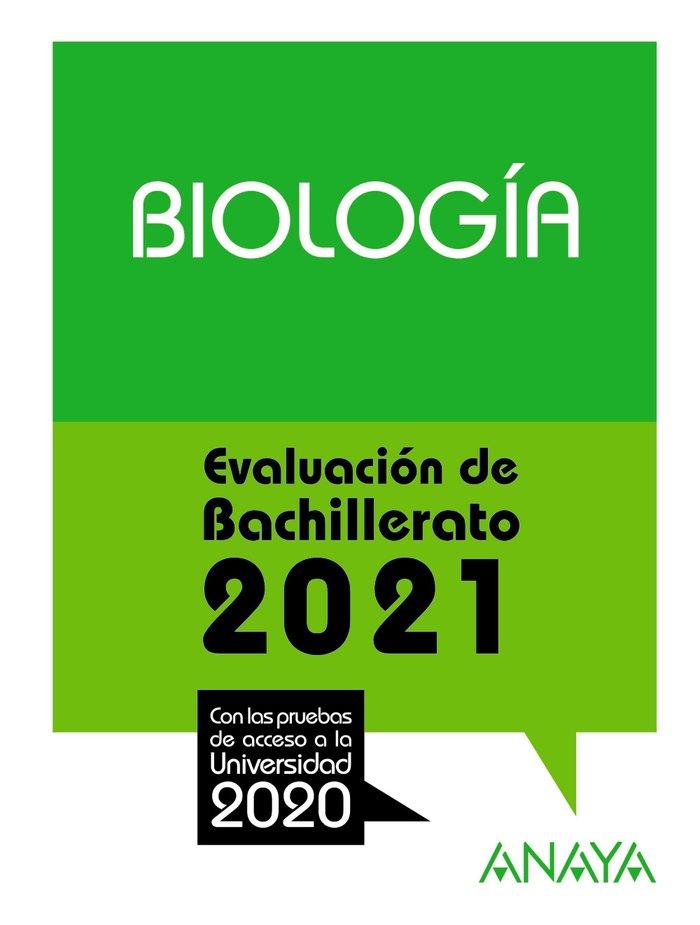 Selectividad biologia 2021