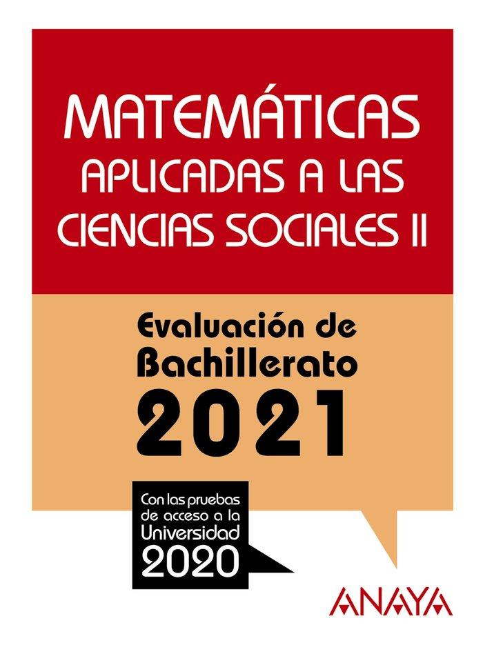 Selectividad matematicas aplicadas cc.ss ii 2021