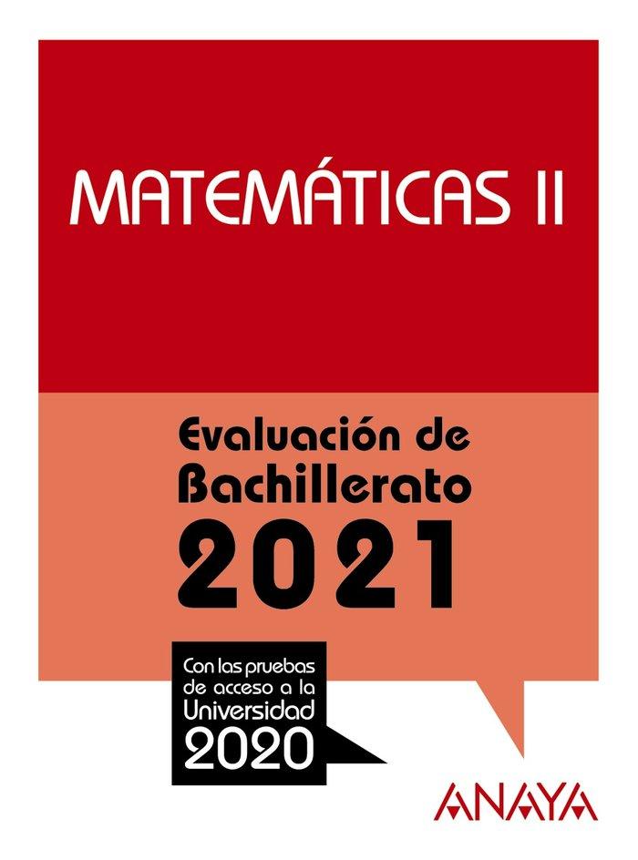 Selectividad matematicas ii 2021