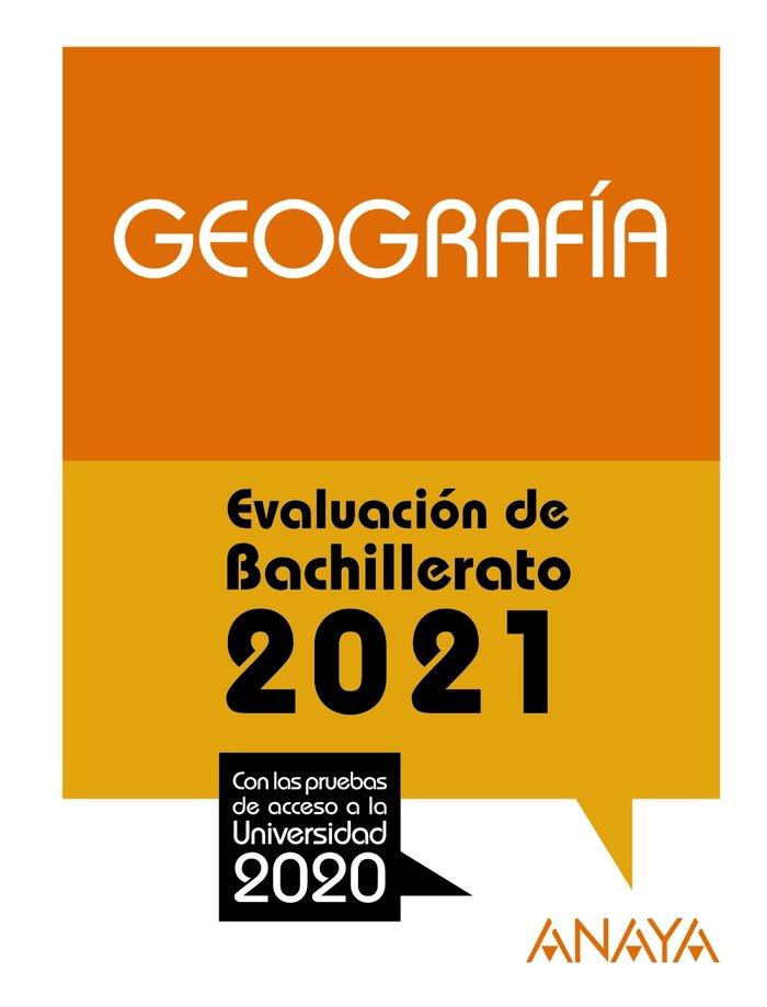 Selectividad geografia 2021