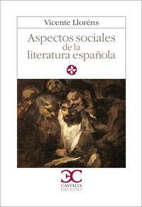 Aspectos sociales de la literatura