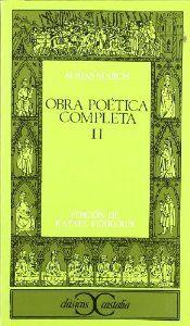 Obra poetica ii a.march cc