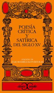 Poesia critica sat.s.xv cc