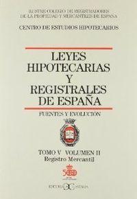 Leyes hipotecarias 5/2 castalia
