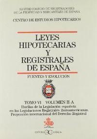 Leyes hipotecarias 6/2a castalia