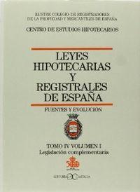 Leyes hipotecarias 4/1 castalia