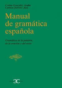 Manual gramatica española