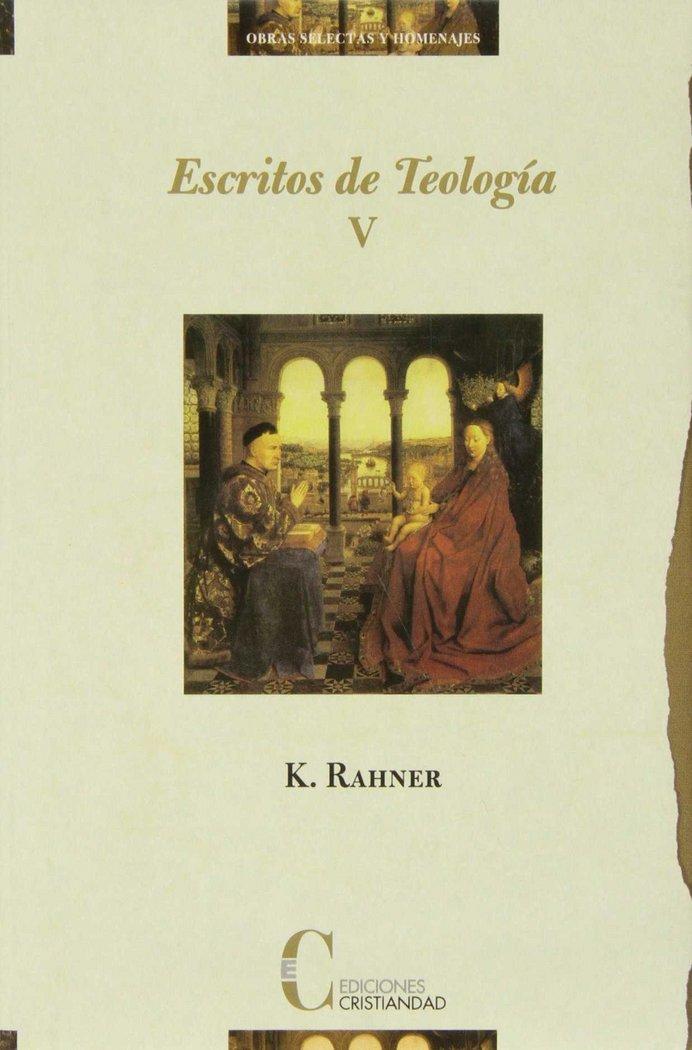 Escritos de teologia tomo v