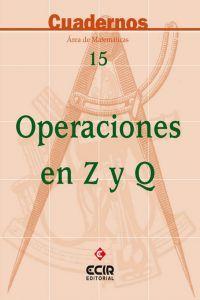 Operaciones en z y q cuaderno n 15