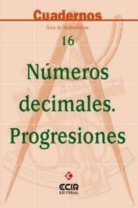 Numeros decimales progresiones cuaderno 16