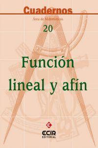 Cuadernos de matematicas 20 funcion lineal y afin