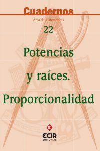 Cuaderno matematicas n 22 potencias y raices