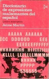 Dic.expresiones malsonantes español
