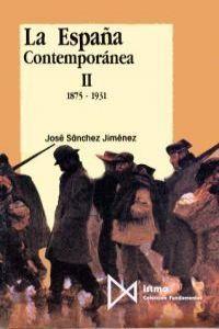 España contemporanea ii 1875-1931