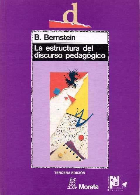 Estructura del discurso pedagogico,la