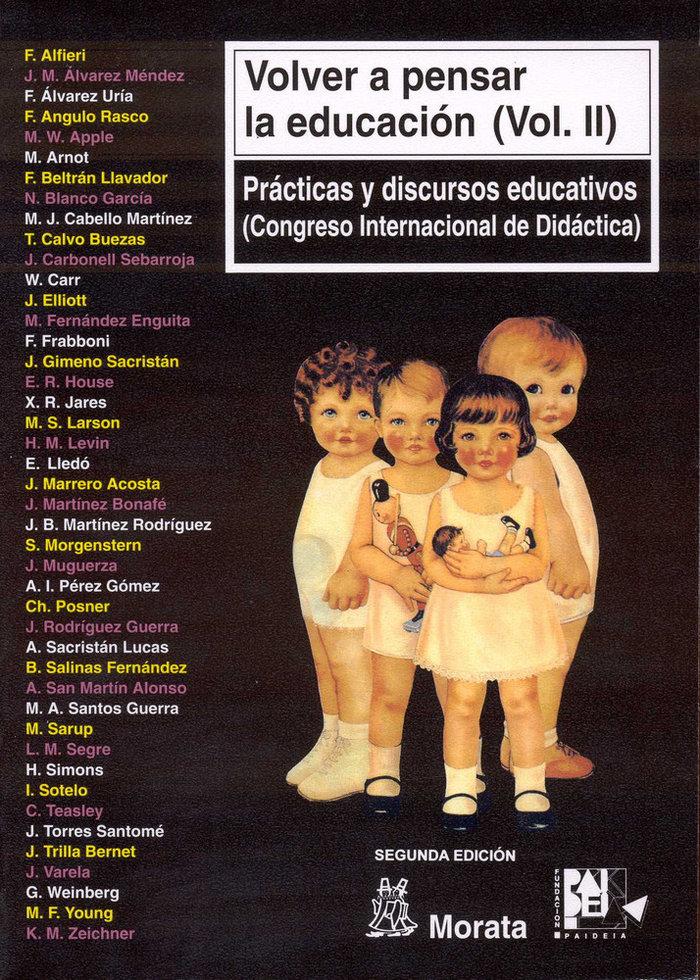 Practicas y discursos educativos