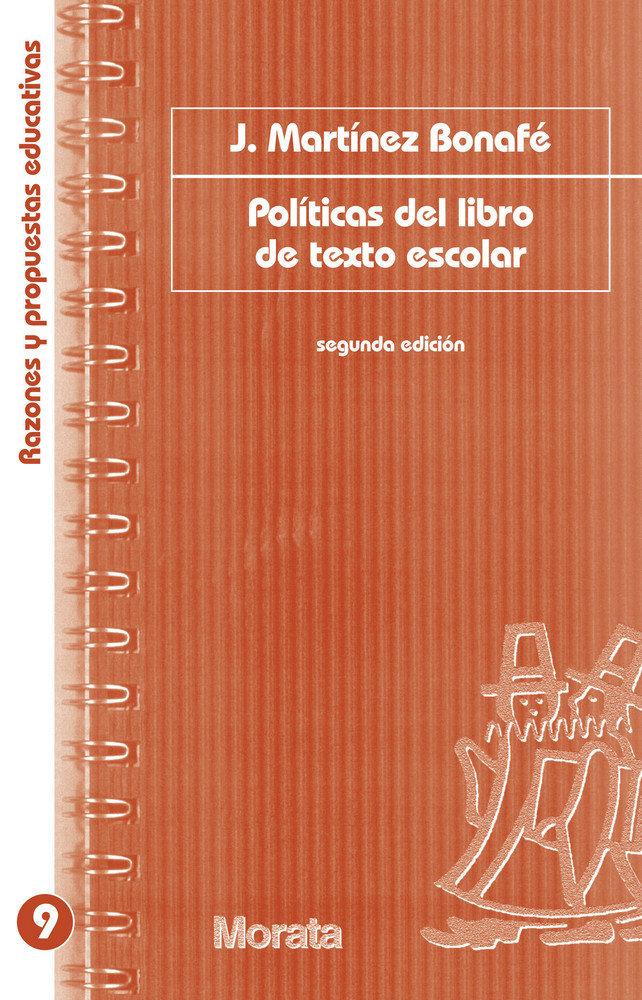 Politicas del libro de texto escolar