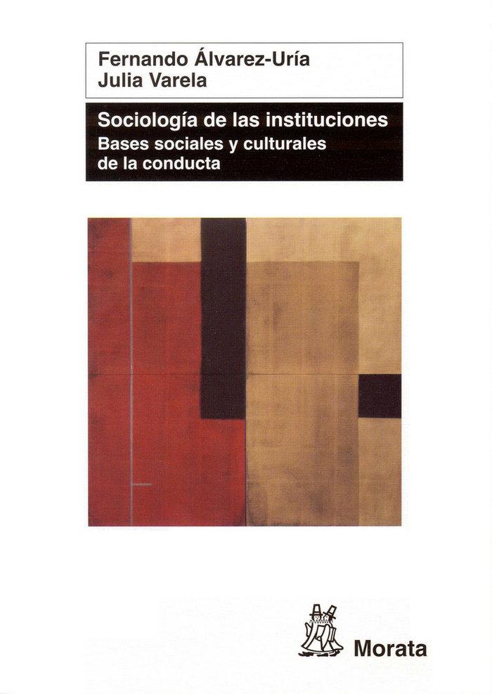 Sociologia de las instituciones