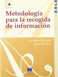 Metodologia para la recogida de informacion