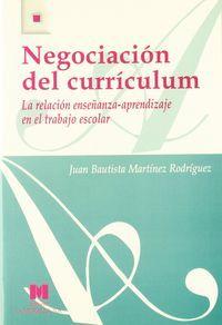 Negociacion del curriculum