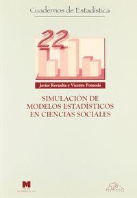 Simulacion modelos estadisticos en ciencias social