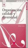 Organizacion calidad y diversidad