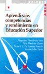 Aprendizaje competencias y rendimiento en educacion