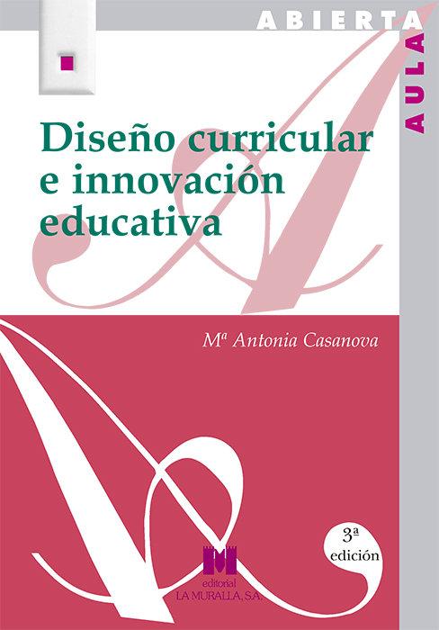 Diseño curricular e innovacion aula abie7580
