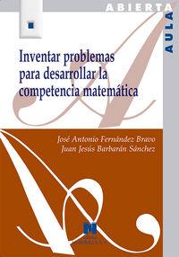 Inventar problemas para desarrollar competencia matematica