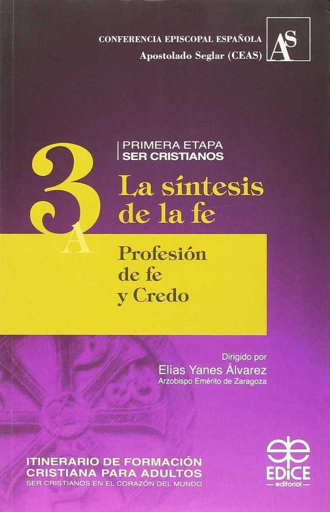 Itinerario de formacion cristiana para adultos (3a)