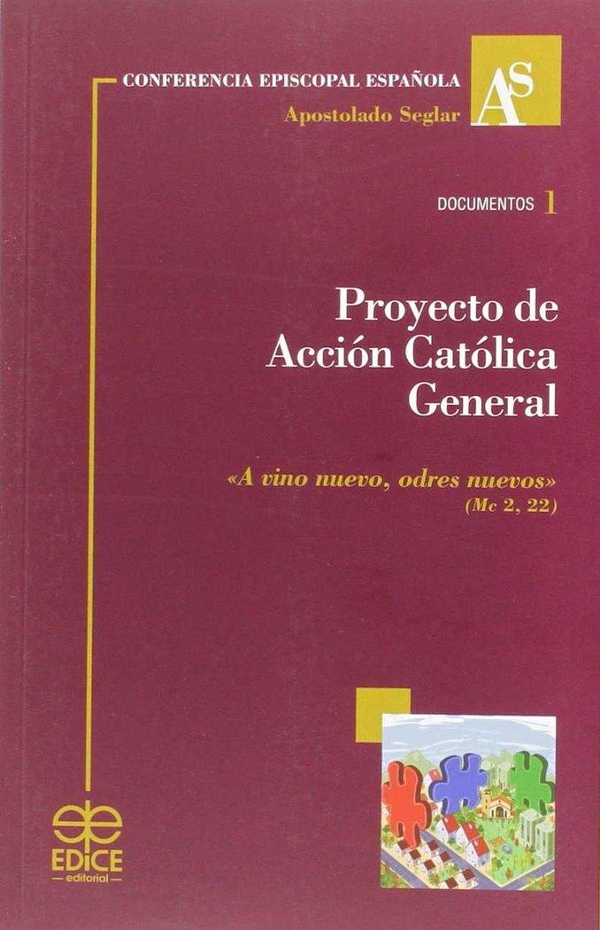 Proyecto de accion catolica general