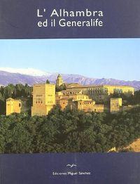 L`alhambra ed il generelafe (italiano)