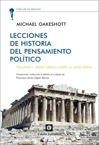 Lecciones de historia del pensamiento politico