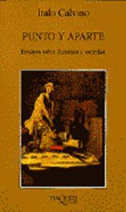 Punto y aparte. ensayos sobre literatura y sociedad