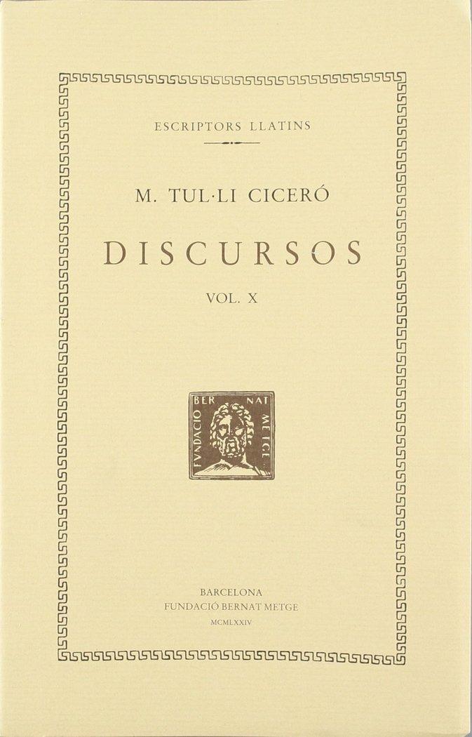 Discursos - vol x - catilinaries