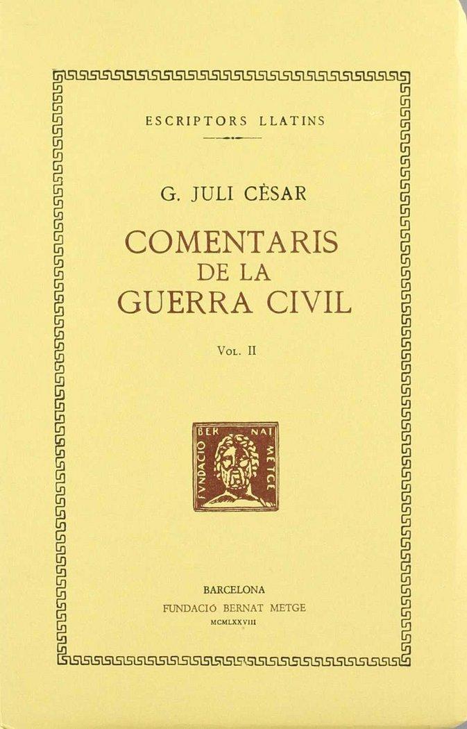 Comentaris de la guerra civil ii catalan