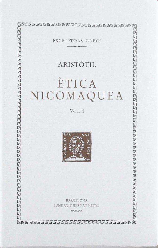 Etica nicomaquea - vol i - cat