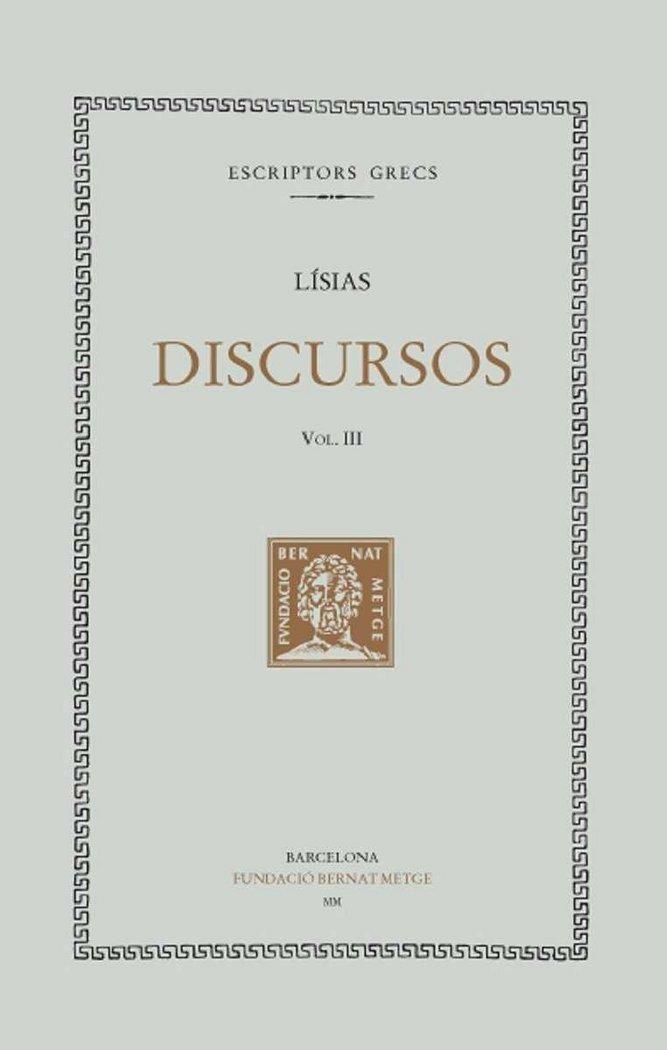 Discursos - vol iii - cat