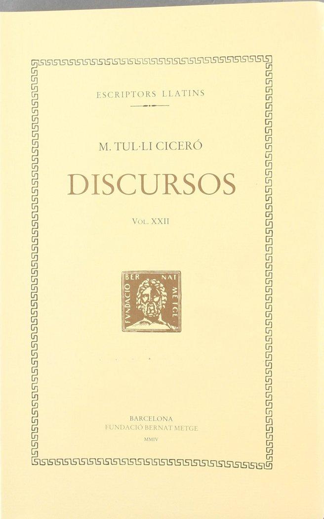 Discursos - vol xxii
